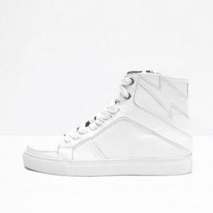 Z&V White Hightop Sneaker