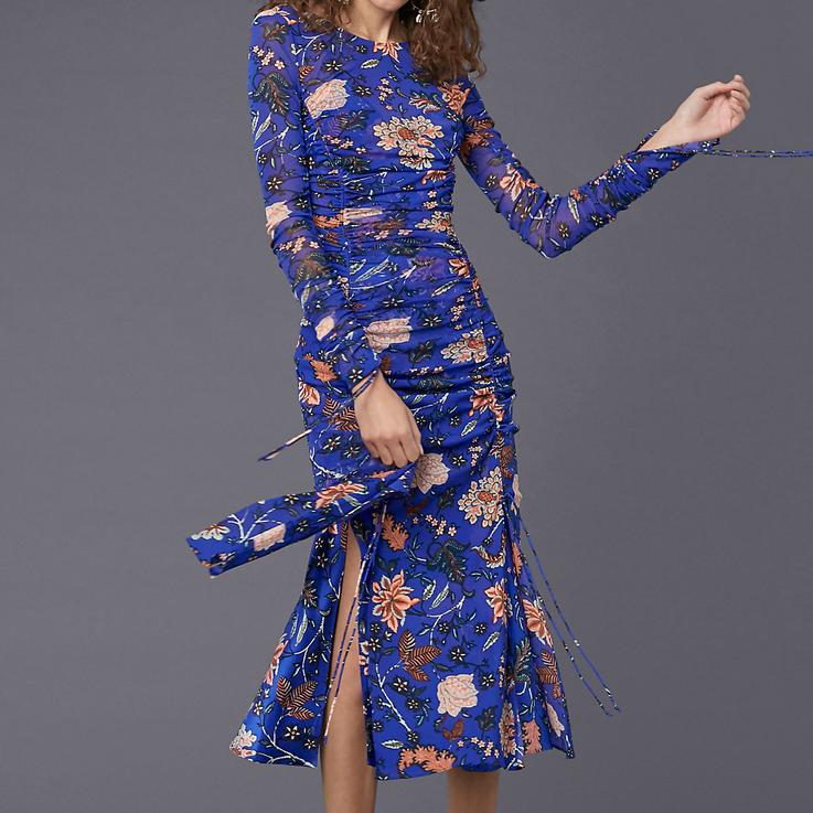 DVF Overlay Mesh Dress