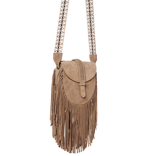Grace World Suede Crossbody