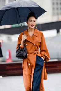 5 rainy day outfits