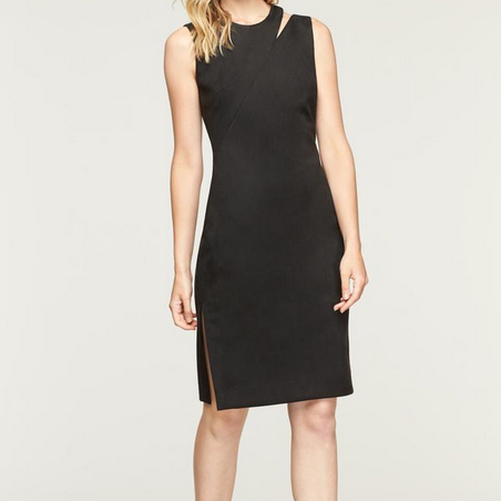 Milly Faux Suede Dress