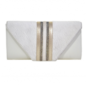 Aspen True Cream Clutch