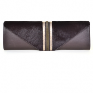 Aspen True Brown Clutch