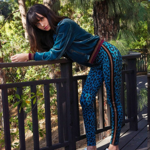 Pam & Gela Cheetah Track Suit