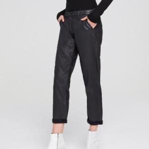 Caden AG Leatherette Super Black