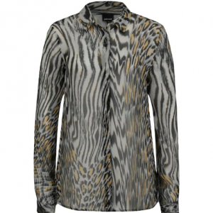 Cavalli Button-down Silk