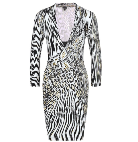 Cavalli Zebra Dress