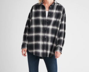 Hudson Flannel Print Shirt