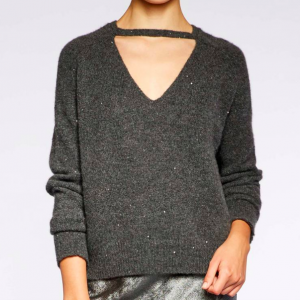BROCHU WALKER FALON PULLOVER IN GREYSTONE