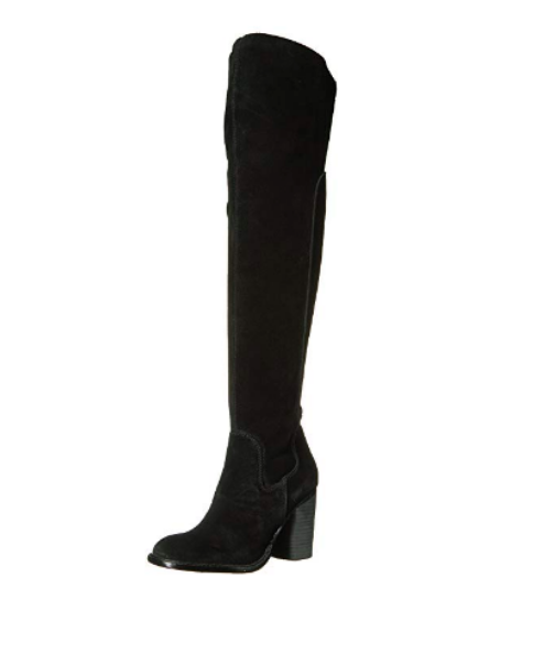LOGAN OVER THE KNEE BOOT IN BLACK