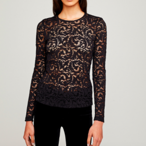 L'AGENCE ANNIKA LACE TOP