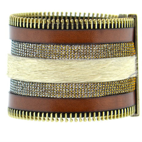 ASPEN TRUE BROWN NAMIBIA CUFF