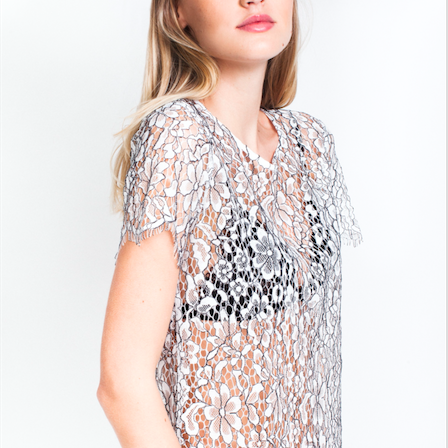 GENERATION LOVE MASHA LACE TOP