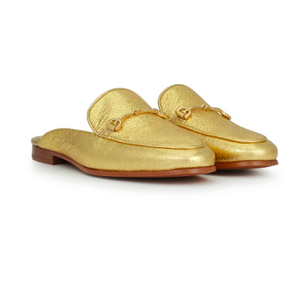 Gold Loafer Sam Edelman