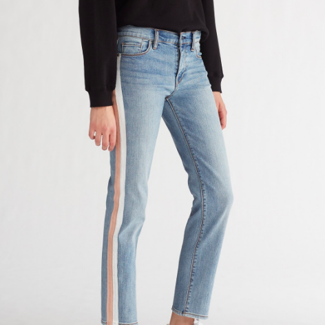 HUDSON SIDE STRIPE JEAN