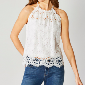 BAILEY 44 EYELET TOP