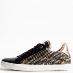 ZADIG AND VOLTAIRE STUDDED SNEAKER