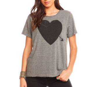 HEART GRAPHIC TSHIRT