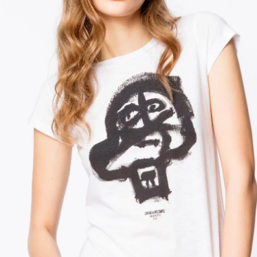 ZADIG AND VOLTAIRE SKULL SHIRT