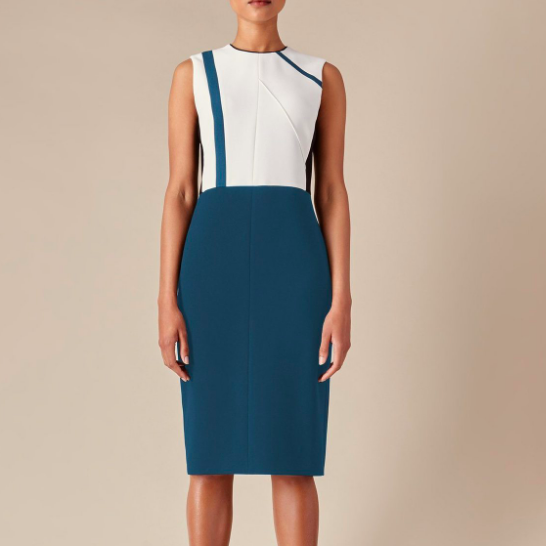 JUDITH AND CHARLES LIDO DRESS