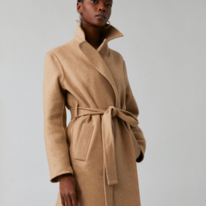 WOOL TRENCH STYLE