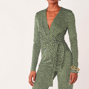 WRAP JUMPSUIT DVF