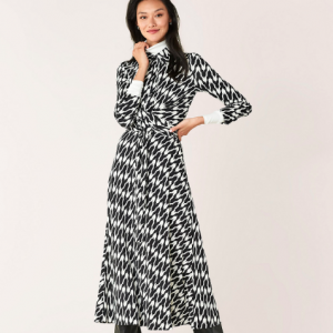 DVF SANA WRAP DRESS