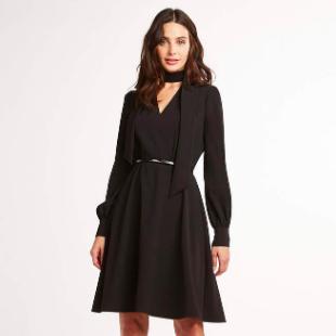 Elie Tahari Black Dress
