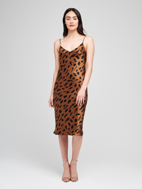 Cheetah Slip Dress