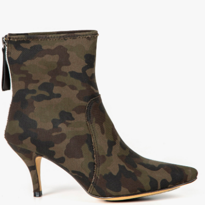CAMO ANKLE BOOTIE