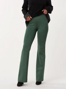 Flare pattern pants