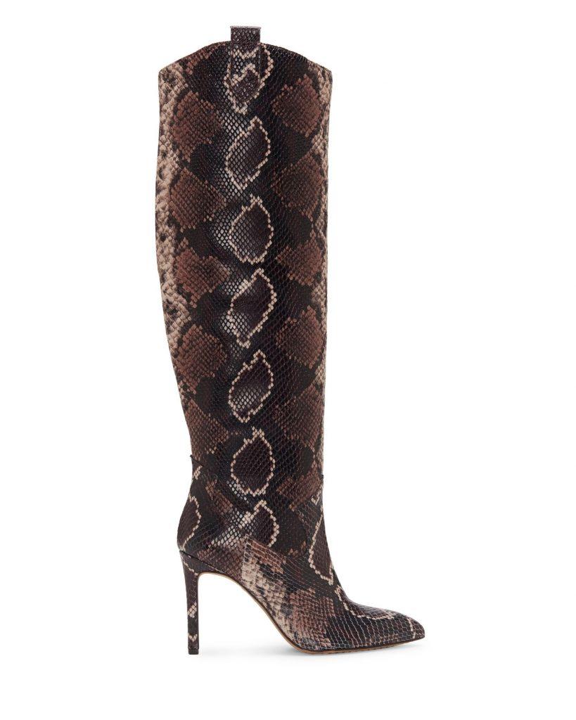 Snake skin boot