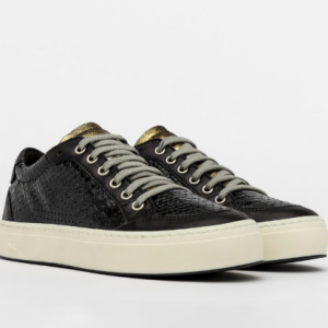 Black Python Sneaker