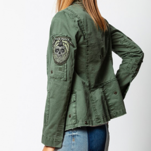 zadig and voltaire military jacket