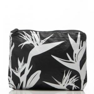 ALOHA BIRDS OF PARADISE ZIP BAG