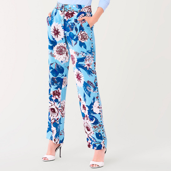 DVF FLORAL PANT