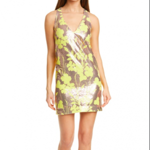 SEQUIN SHIFT DRESS SMYTHE