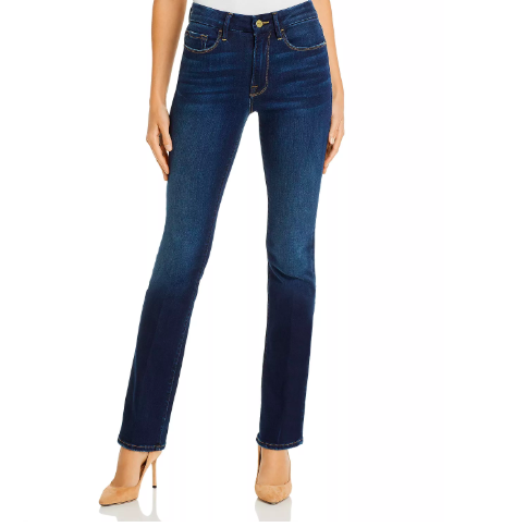 LE HIGH FLARE FRAME JEANS