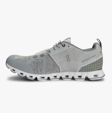 SILVER TERRY ON CLOUD SNEAKER