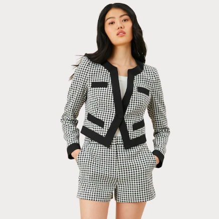 GINGHAM JACKET MILLY
