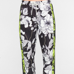 PAM AND GELA TRACK PANTS FLORAL