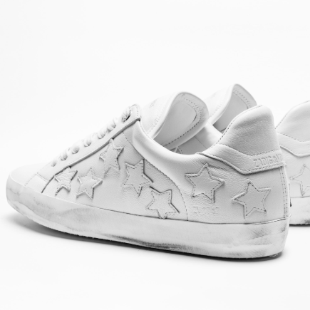 ZADIG STARS LOW TOP SNEAKER