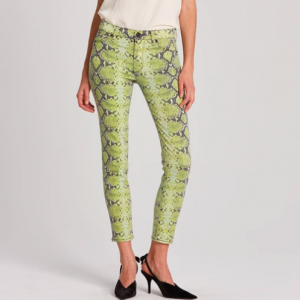 green snake denim hudson