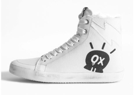 high-top sneakers for Spring Denver Boutique