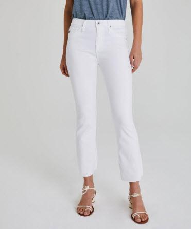 agjeans white jeans denver boutique