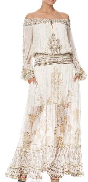 camilla off the shoulder dress denver co clothing boutique