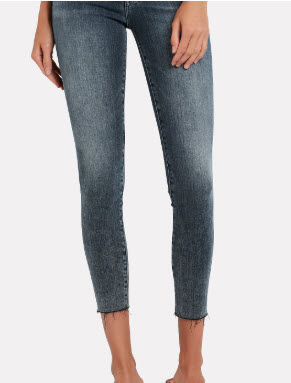 FRAME Le High Raw Edge Skinny Jeans Denver Clothing Boutique