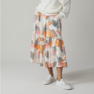 TROPICAL MAXI SKIRT CLOSED