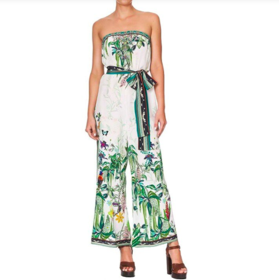 Silk Camilla Rainforest Jumpsuit