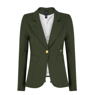 ARMY GREEN DUCHESS BLAZER SMYTHE KATE MIDDLETON